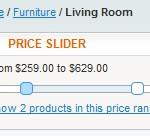 Price Slider