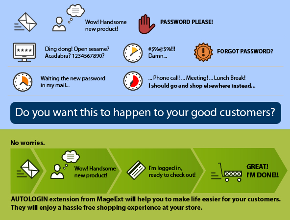 Magento Autologin by MageExt.com